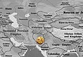 Location map of the Sasanian coinage of Sindh.jpg