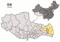 Location of Baxoi within Xizang (China).png