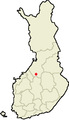 Location of Haapajärvi in Finland.png
