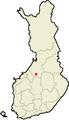 Location of Haapajärvi in Finland.png