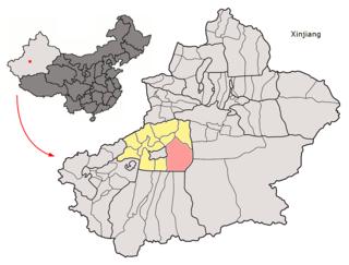 County in Xinjiang, People