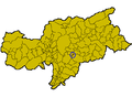 Location of Waidbruck (Italy).png