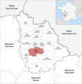Locator map of Kanton Vivonne 2019.png