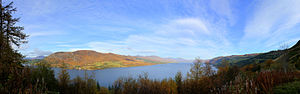 Loch Carron - Loch Carron from the viewing point above Stromeferry
