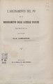 Lombardini, Elia – L'arginamento del Po ed il bonificamento delle laterali pianure, 1876 - BEIC 6319740.tif