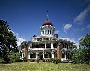 """Samuel Sloan (architect) - """"Longwood"""" (Haller Nutt mansion), Natchez, Mississippi (1859-62, unfinished)."""