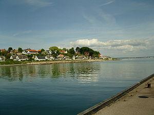 Snekkersten - Snekkersten seen from the marinar