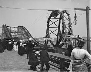 Loop the Loop (Young's Million Dollar Pier) - Image: Looping the loop Atlantic City 1901