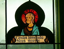 Giacobbe in una vetrata della chiesa di St.Laurenz a Lorch