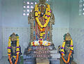 Lord Venkateshwara and consorts Idols at Thagarapuvalasa.jpg