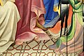 Lorenzo monaco, incoronazione della vergine e santi in adorazione, 1407-09, da s. benedetto fuori porta a pinti già a firenze 02 pavimento.jpg