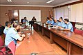 Lt Gen Satish Dua CISC being briefed on ENC.jpg