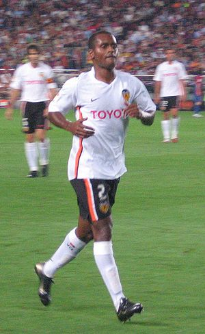 Miguel Monteiro - Miguel in action for Valencia in 2006