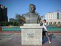 Lu Xun bust in Jiayuguan.jpg