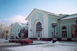 Lubny train station