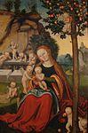 Lucas Cranach.d.Ä. - Maria unter dem Apfelbaum (Schloss Güstrow).jpg
