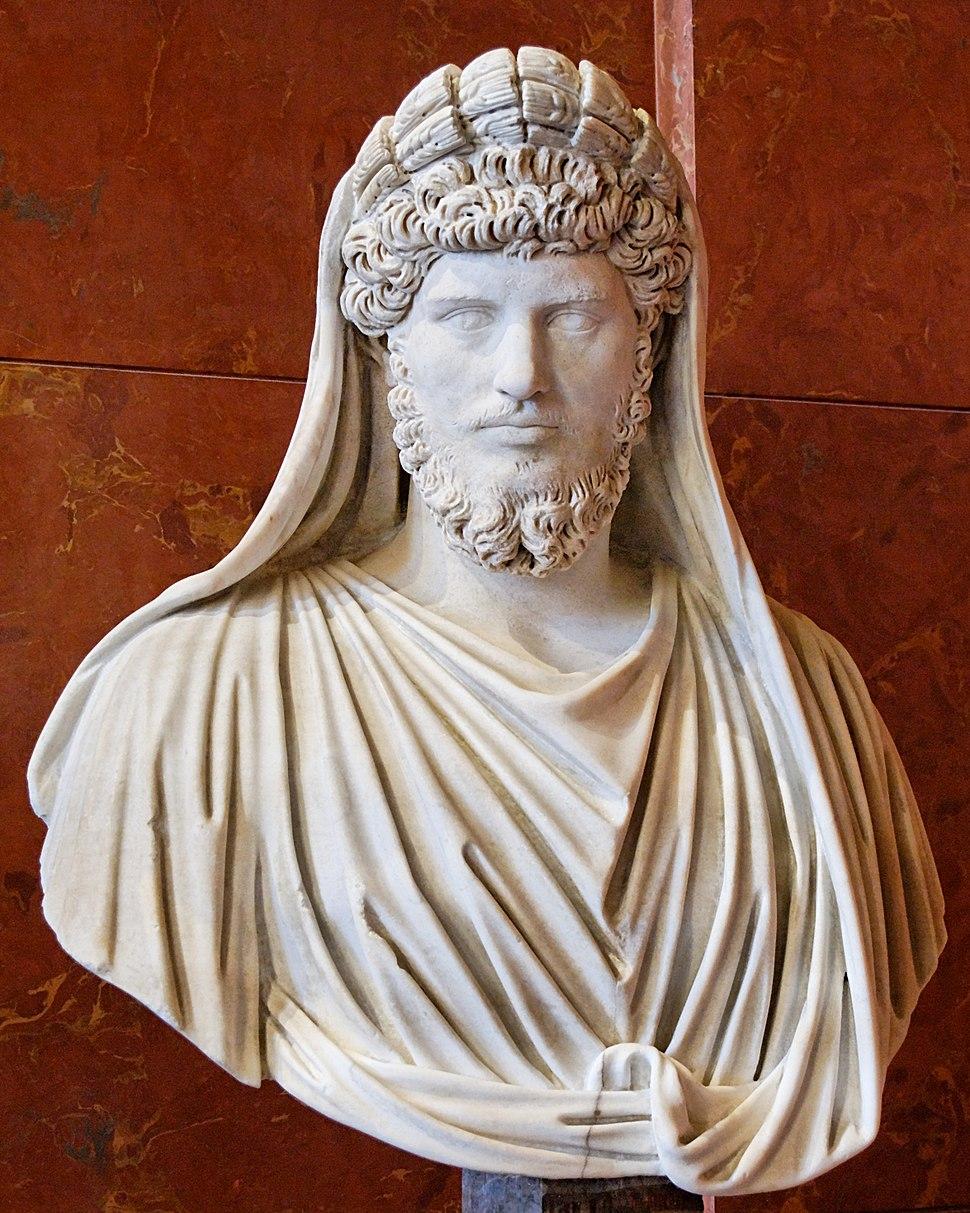 Lucius Verus Frater Arvalis Louvre Ma1169