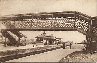 Ludgershall, Wiltshire - Ludgershall station in the 1900s.
