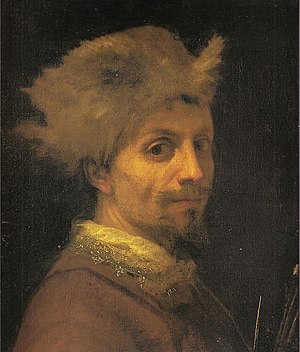 Cigoli - Cigoli, self-portrait