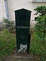 Lyon 8e - Corbeille pour crottes de chien dans le quartier des États-Unis (mai 2019).jpg