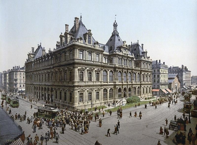 Palais de la Bourse vers 1900