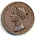 Médaille pour le baptême du Duc de Bordeaux, avers.jpg