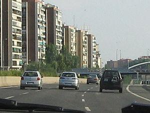 Autopista de Circunvalación M-30 - Image: M 30