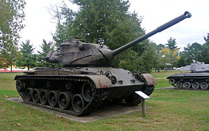 M47 Patton - M47 Patton tank at Fort Meade, Maryland.