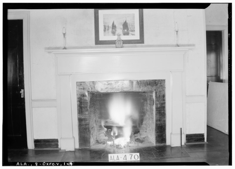 freemans dining room | File:MANTEL IN DINING ROOM (W. end of house) - Freeman ...