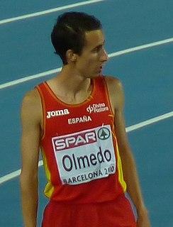 Manuel Olmedo Spanish middle-distance runner