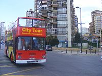 MAN Open top City Tour bus, Benidorm A 9736EB - Flickr - sludgegulper.jpg