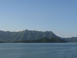 Ma Shi Chau - Ma Shi Chau (front) and the Pat Sin Leng mountain range (rear)