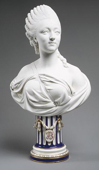 Biscuit porcelain - Image: Madame du Barry (1746–1793) MET ES4280