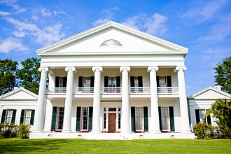 Henry Howard (architect) - Madewood Plantation House, designed by Howard in 1848.