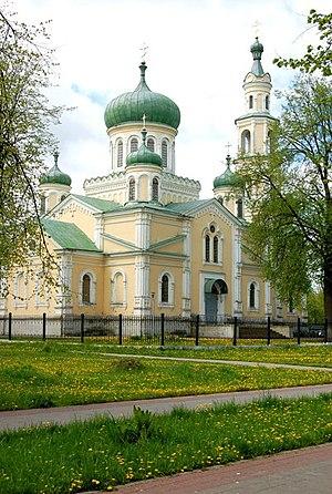 Semenivka, Chernihiv Oblast - Main church in Seminivka