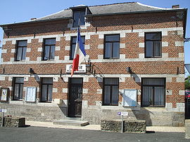 The town hall in Dompierre-sur-Helpe