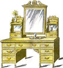 makeup table1886jpg la coiffeuse est un meuble