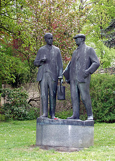 Brothers Čapek two Czech writers