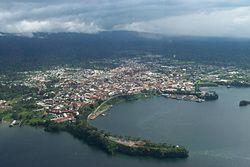 Luftaufnahme Malabos