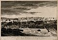 Malta; view from the Cotonera fortifications. Etching by M-A Wellcome V0014679.jpg