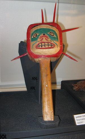 Mamalilikala - A Mamalilikala people's rattle.