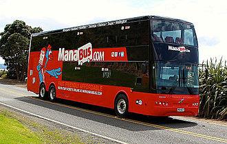 Brian Souter - ManaBus Kiwi Bus Builders bodied Volvo B11R