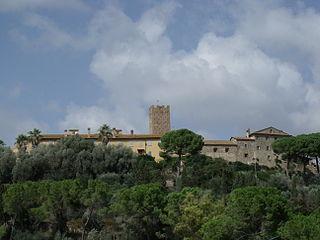 Marsiliana Frazione in Tuscany, Italy