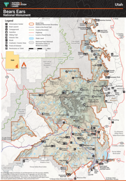 Bears Ears National Monument - Wikipedia