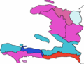 Map Haïti Election presidential 2015.png
