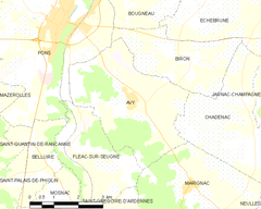 Map commune FR insee code 17027.png
