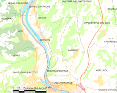 Map commune FR insee code 26110.png