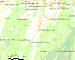 Map commune FR insee code 26307.png