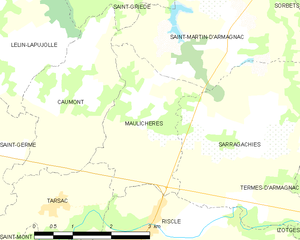 Map commune FR insee code 32244.png