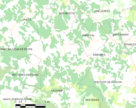 Map commune FR insee code 48126.png
